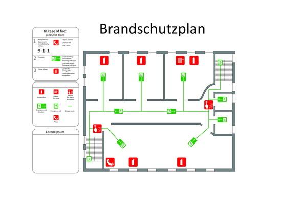 Brandschutzplanung